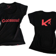 Kop de Gas, Gaassss! T-Shirt Woman